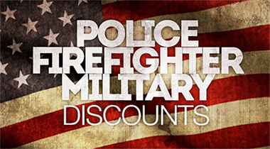 Fire, Police, Military Discount
